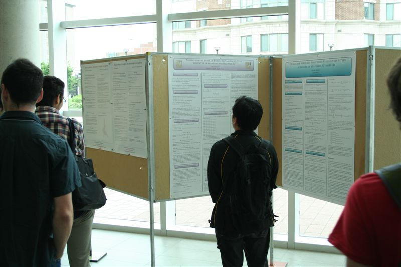 geometric representation theory and extended affine lie algebras posters